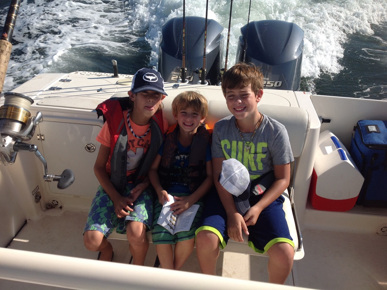 Charter trip hooked on fishing charters for Hooked on fishing